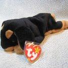 Doby the Dobermen TY Beanie Baby Retired MWMT