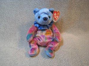 September the Birthday Bear TY Beanie Baby Retired MWMT