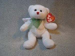 Hark the Angel Bear TY Beanie Baby Retired MWMT