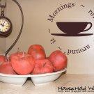 Mornings Revolve Around It