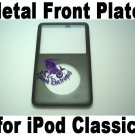 Genuine OEM Black Matel Front Faceplate Housing Fascia Cover for iPod 6th Gen Classic 80GB 160GB