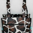 Wholesale Giraffe Print Tote Bag (1 CASE=48)