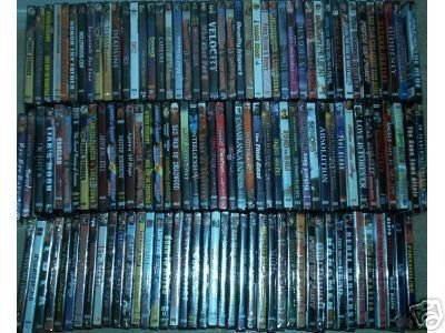 200 ASSORTED DVD MOVIES(1 CASE=200)