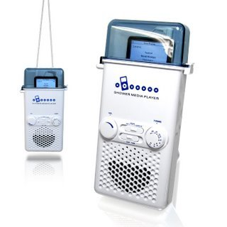 Wholesale iPod /MP3 Shower Media Player with AM/FM Radio (1 CASE=