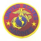 "UNITED STATES MARINE CORPS USMC 4"" Round Military Patch"