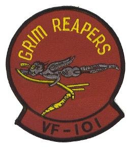 """UNITED STATES MARINE CORPS USMC GRIM REAPERS 4.5"""" Round Military Patch"""