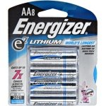 Lithium 8pk Energizer Battery retail pack