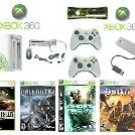 "Xbox 360 ""Warriors Gold Pack"" Video Game System - 4 Games and more Free Shipping!!!"