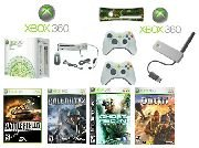 """Xbox 360 """"Warriors Gold Pack"""" Video Game System - 4 Games and more Free Shipping!!!"""