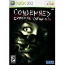 Condemned: Criminal Origins Xbox 360 Free shipping!!!!!!