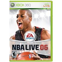 NBA Live 06 - Xbox 360 FREE SHIPPING!!!!