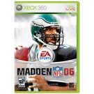 Madden 2006 Football Xbox 360 FREE SHIPPING!!!!