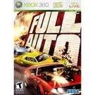 FULL AUTO XBOX 360 GAME  FREE SHIPPING!!!!