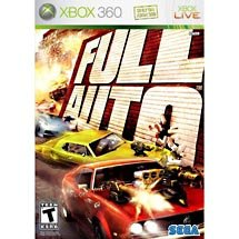 FULL AUTO XBOX 360 GAME  FREE SHIPPING!!!!