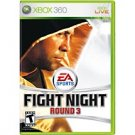 Fight Night Round 3 Xbox 360 FREE SHIPPING!!!!!