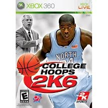 College Hoops 2K6 Xbox 360 FREE SHIPPING!!!!