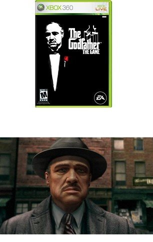 The Godfather Xbox 360 FREE SHIPPING!!!