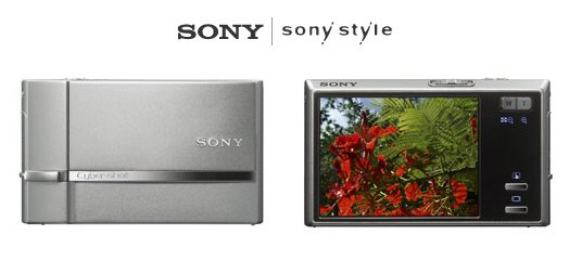 Sony DSC-T50 - 7.2 MegaPixels Digital Camera with 3x Optical Zoom FREE SHIPPING!!!