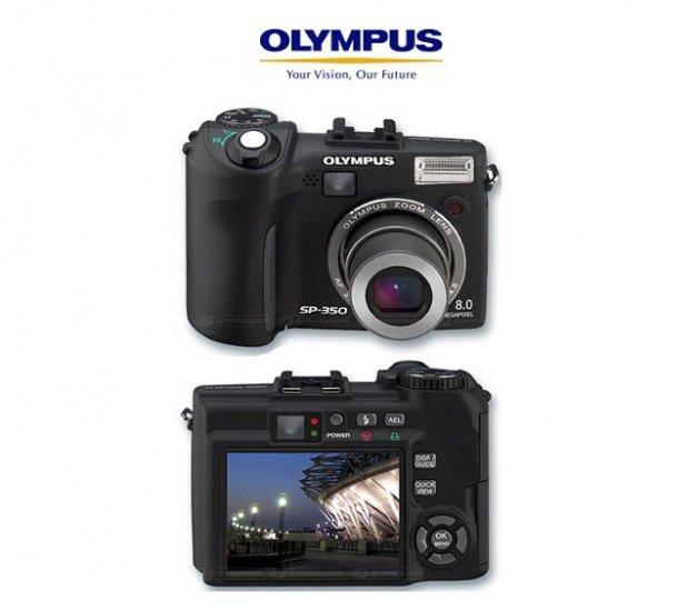 Olympus SP350 - 8.3 Megapixels Digital Camera