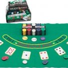 Club Fun 200pc Texas Hold'em Poker Set NEW!! FREE SHIPPING!!!!