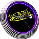 Neon Clock Von Dutch Purple FREE SHIPPING!!!