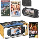 Sony PlayStation Portable W/1GB Memory Card, 2  Games + UMD Movie FREE SHIPPING!!!