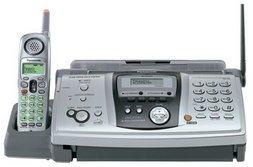 Panasonic KXFPG379 Fax Machine with Cordless Telephone Free Shipping!!!