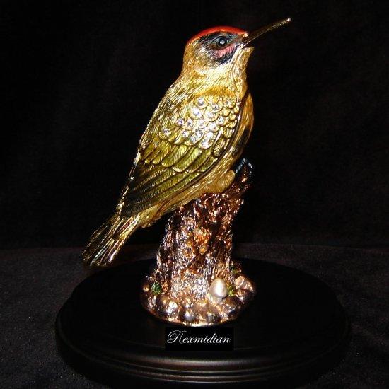 Fitz & Floyd - Gold Bird Trinket Box