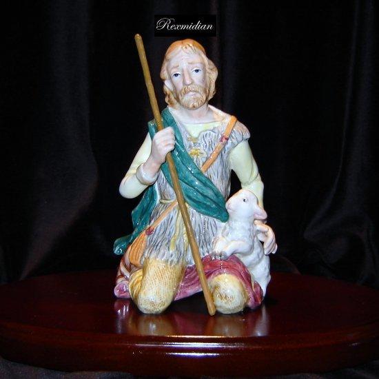 Fitz & Floyd Nativity Shepherd Man Figure