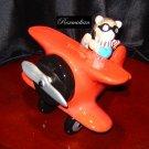 Fitz & Floyd - Teddy's Airplane Penny Bank