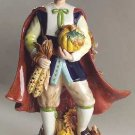 Fitz & Floyd - Harvest Heritage Male & Female Pilgrim Figurine Pair - NIB