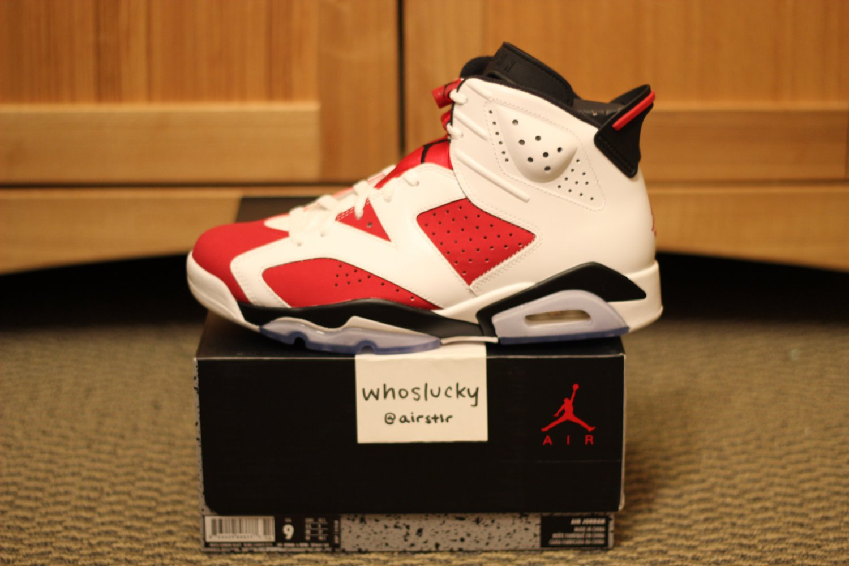 DS Nike Air Jordan 6 VI Carmine Size 8