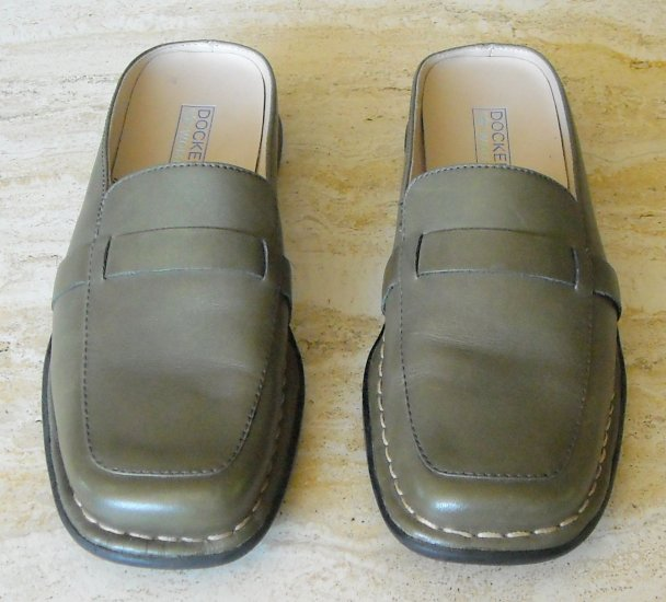 Dockers Womens Olive Green Shoes Slides Size 7 M