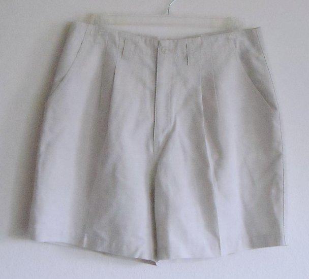 Northern Reflections Womens Beige Shorts Waist 34