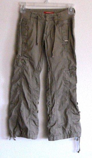 Unionbay girls zippered front pants size 7 Regular