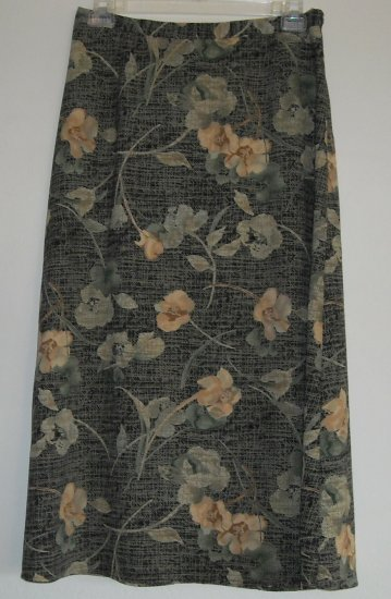 Requirements ITEM EYES womens floral skirt size L Large