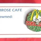McDonald's Monopoly Golden arch 1995 crew tie tac pin