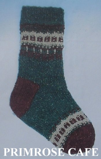 Blackberry Ridge Bohus Holiday socks pattern