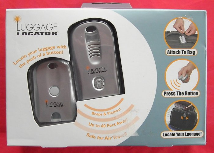 Luggage Locator Safe for air travel
