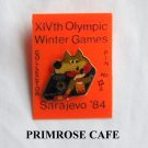 Collectors Olympics XIV 1984 Winter games Sarajevo hockey # 13 tie tac hat lapel pin