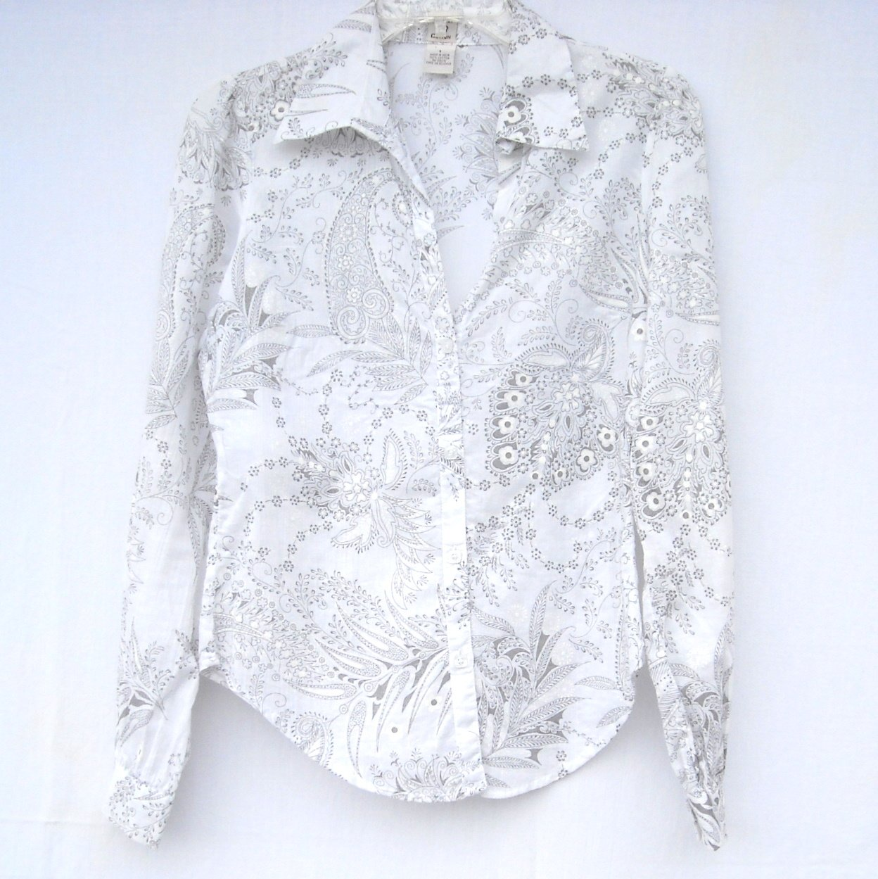 Johnny Cotton Misses Womens Blouse Shirt Top Size 1