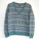 Eddie Bauer Petite Womens Knit Sweater Top Size M