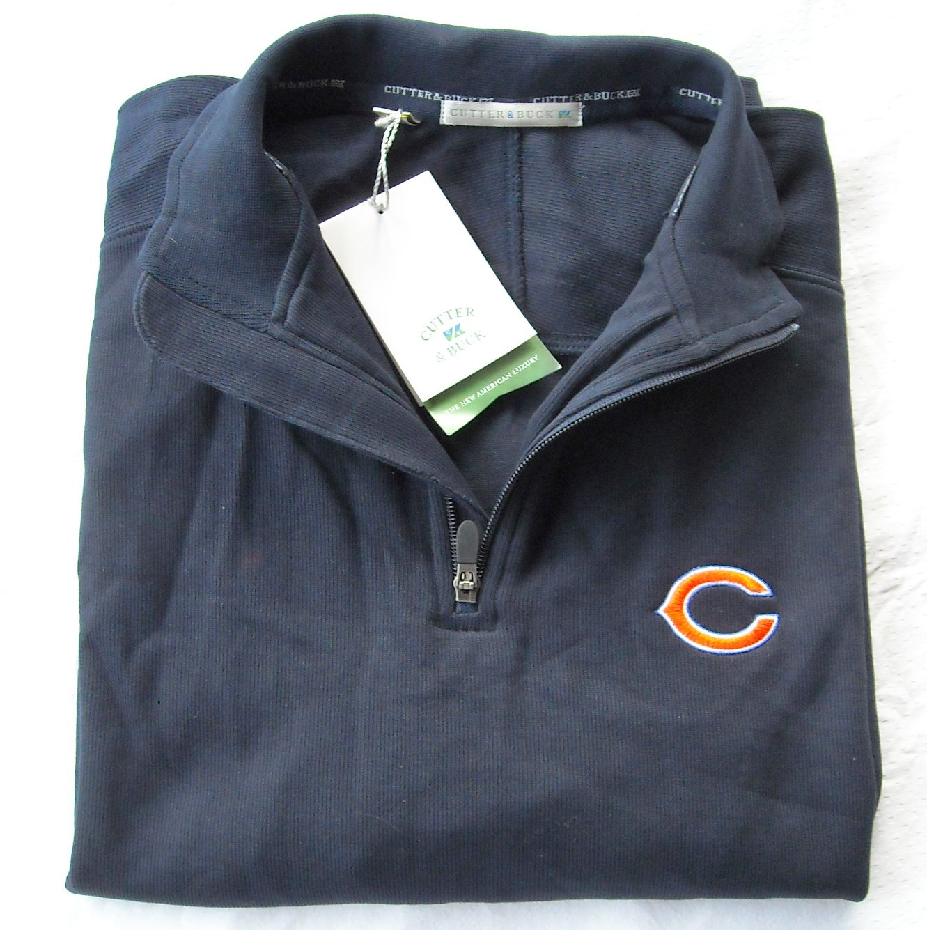 Cutter & Buck mens long sleeve pullover size L NWT