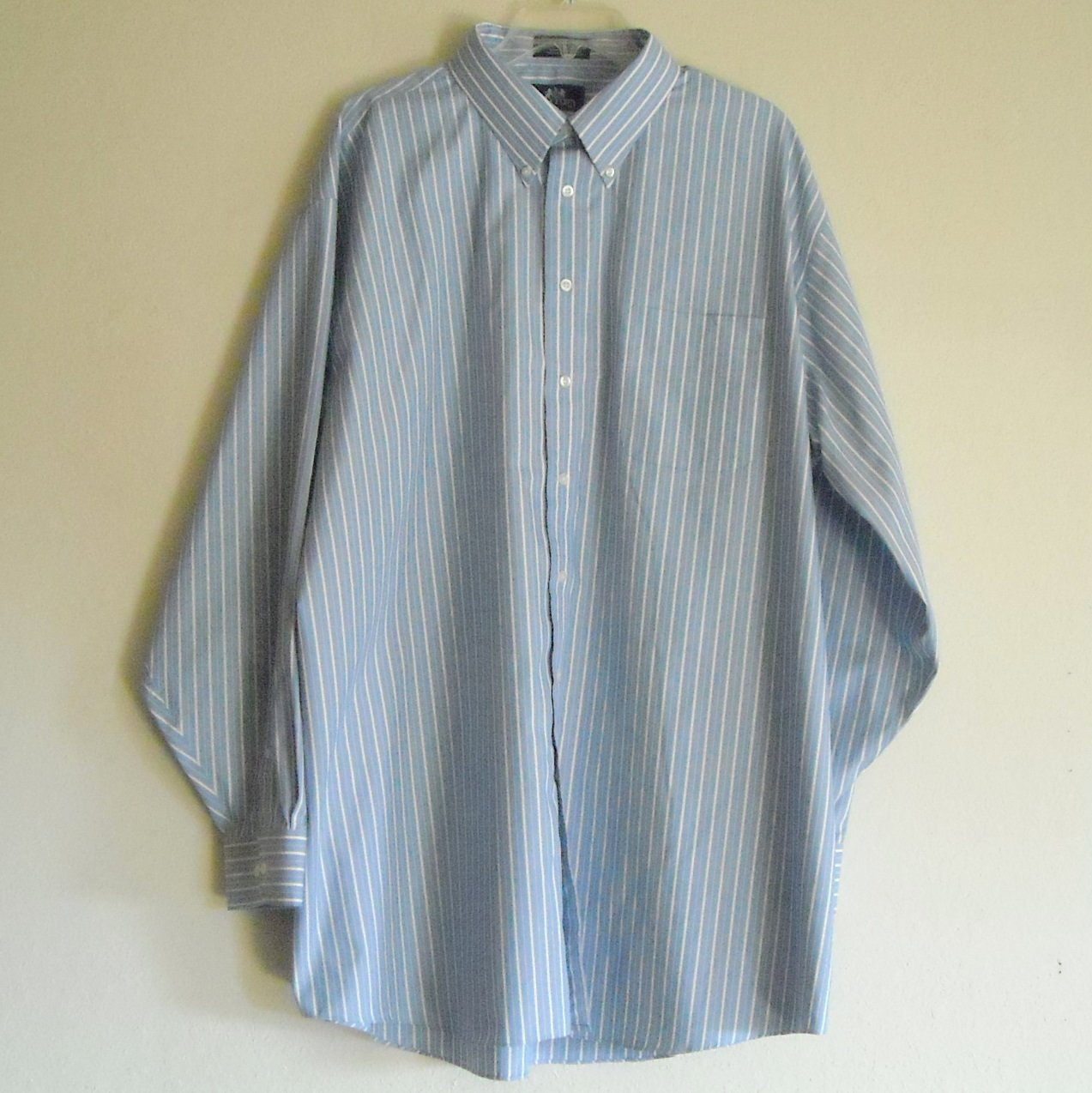 Stafford mens micro pinpoint oxford shirt size 18 5 36 37 for 18 36 37 shirt size
