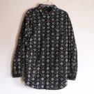 Chaps Denim mens 100 % cotton shirt size LG