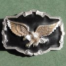 Flying Eagle 3D GAP Solid Pewter 1997 Belt Buckle