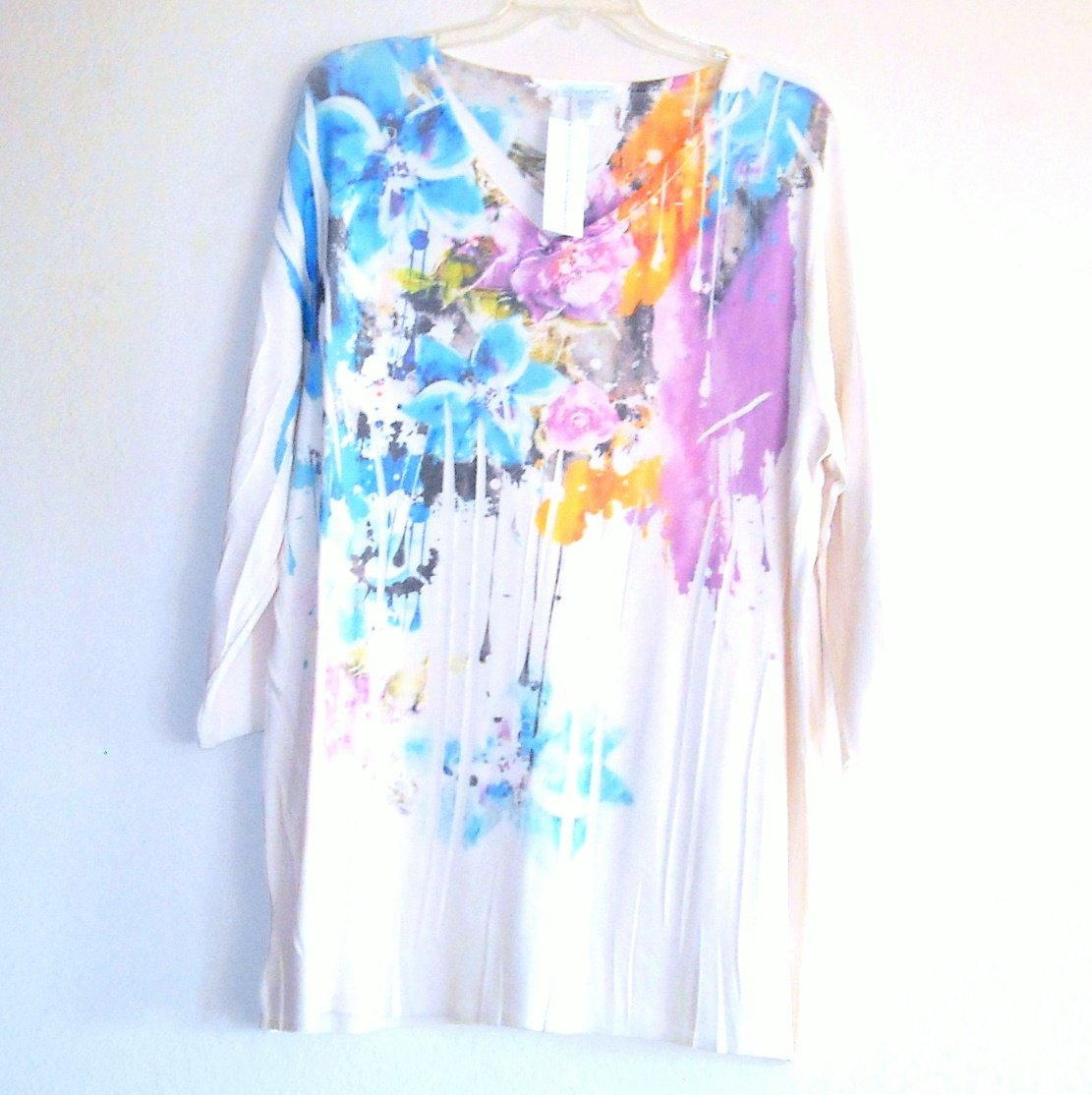 Silhouettes Misses Womens Blouse Top Plus Size 2X NWT