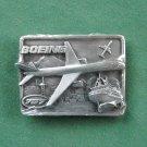 Vintage Siskiyou Boeing 757 Belt Buckle NOS