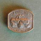 Four Wheeling Bergamot 1976 Solid Brass Belt Buckle
