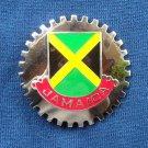 Jamaica Artifakt Silver Color Belt Buckle